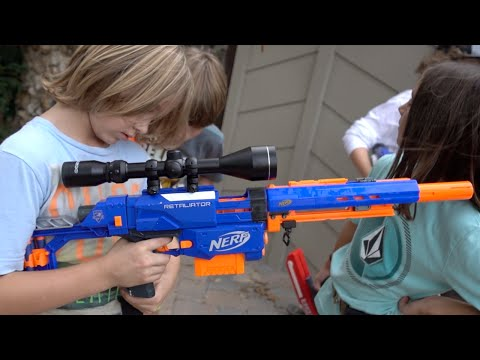 CUSTOM NERF SNIPER RIFLE!!