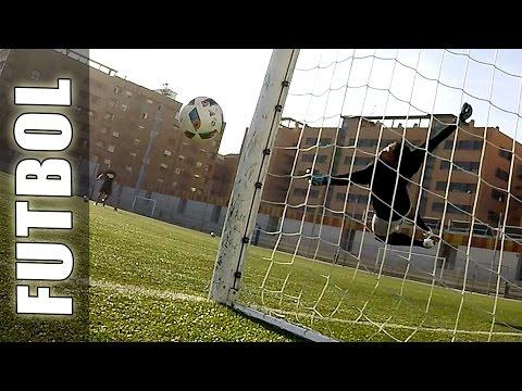 Goles de Tiros Libres & Penalties de Futbol (con Portero/Arquero) - Videos y jugadas de Fútbol