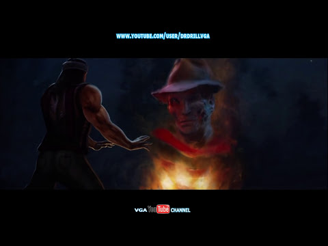 Mortal Kombat 9 Freddy Krueger All Moves X Ray Fatalities And Arcade Ending HD