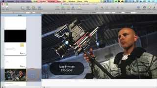 Use Final Cut Pro X with Keynote to Make Videos from Slides - Izzy Video 227