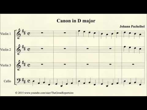 Pachelbel, Canon in D major