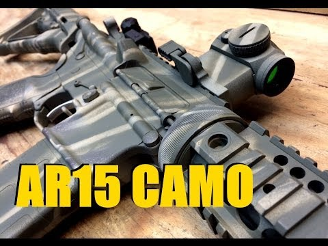 AR15 Camo Paint Job - How To