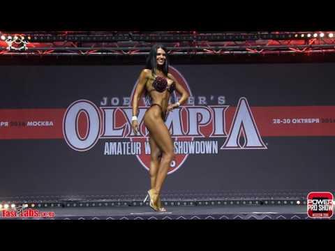 2016 Olympia Amateur Moscow Bikinifitness 172cm FINAL
