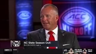 2019.07.17 ACC Football Media Days: NC State Wolfpack