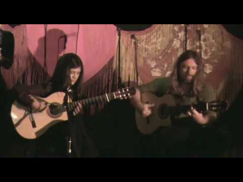 Jason McGuire (El Rubio) - Flamenco Guitar Duet with Roberto Granados (11 years old)