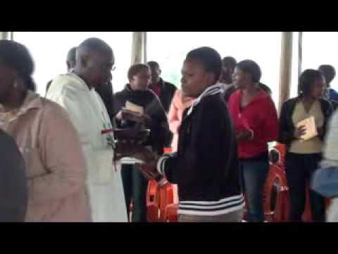 Catholic Mass - Songs In Swahili - St Catherine Church,nairobi, Kenya - 18 Apr, 2010 video