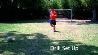 How to do a Step Over in Soccer - Online Soccer Academy