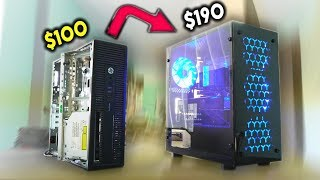 Turning a $100 4th Gen HP ProDesk into a GAMING PC? (Mid-Month Hustle)