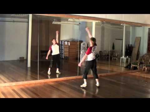 Michael Jackson Thriller Dance Tutorial 44 (With Music Full...