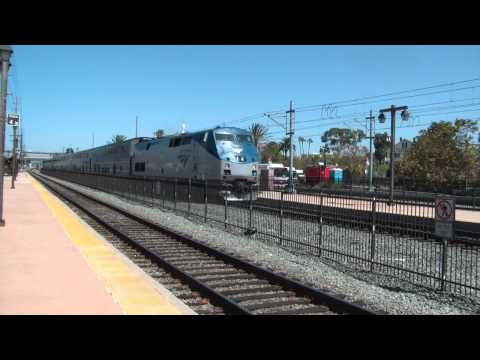Amtrak 566 Stops in Old Town HD