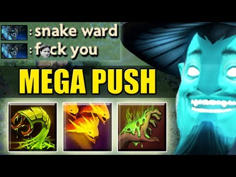 Unlimited Snake Army [Fast Push] Dota 2 Ability Draft