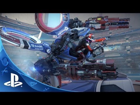 RIGS Mechanized Combat League - Paris Games Week TRAILER | PlayStation VR