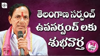 Telangana Govt Issue Joint Check Power To Sarpanch & Upa Sarpanch | Cm KCR | TRS | Alo Tv