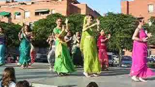 the BOLLYPRAT DANCERS in