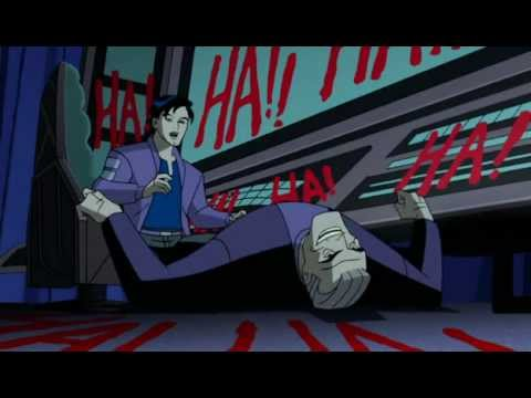 terry finds bruce by the hands of the joker