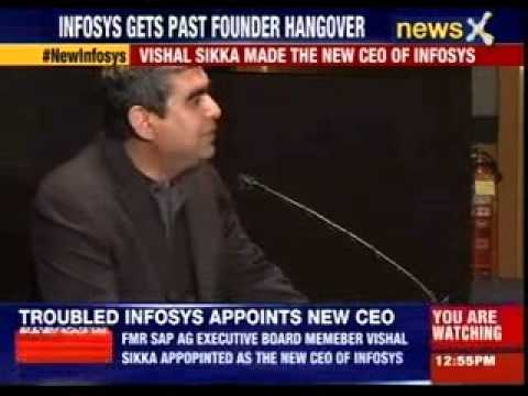 Troubled Infosys appoints new CEO