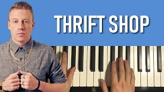 THRIFT SHOP (Piano Tutorial Lesson)