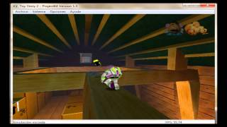 Toy story 2  N64, gameplay (loquendo)
