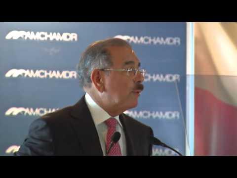 Discurso Danilo Medina Cámara Americana de Comercio 2015