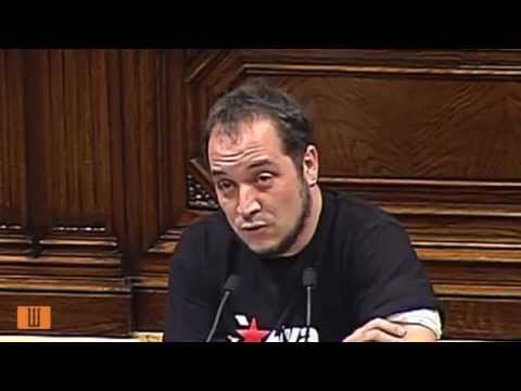 David Fernandez - Discurs al Debat d'investidura (21.12.2012)