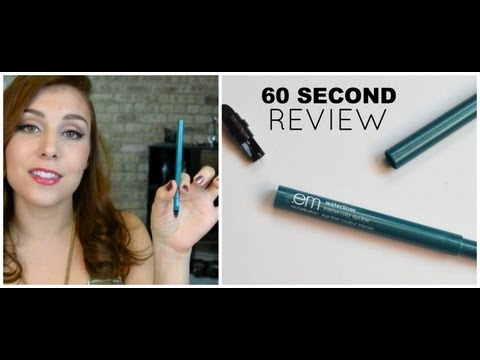 60 Second Review: em Cosmetics Waterliner in Turquoise