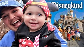 SINGLE DAD TAKES DAUGHTER TO DISNEYLAND! *her 1st time*