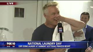 Cory's Corner: National Laundry Day