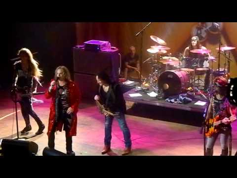Steel Panther with Vivian Campbell HOB Anaheim Jan 21 2012 Rock Of Ages, Rainbow In The Dark