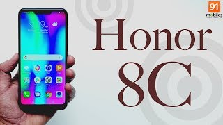 Honor 8C: Unboxing | Hands on [Hindi हिन्दी]