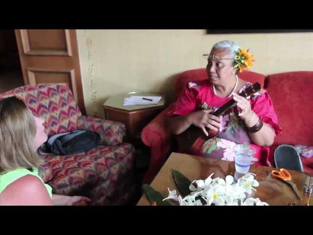 Talking Story With Aunty Irene on Lanai, Hawaii