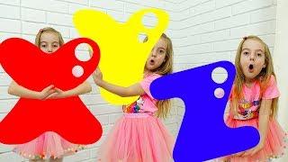 Ulya and ABC song #2
