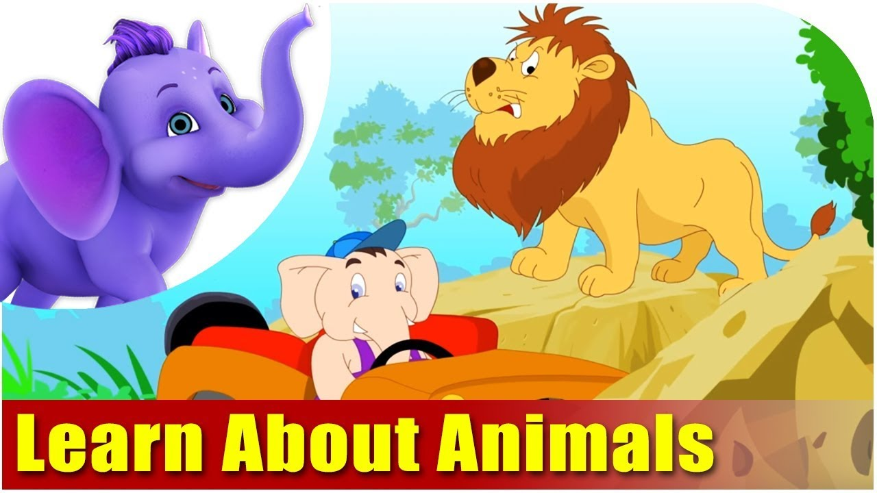 Learn Animals Song - 3D Animation Animals Video for Kids ...