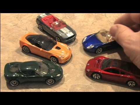 Classic Toy Room - MATCHBOX MODERN RIDES 2 cars review. W12. 911 and Corvette!