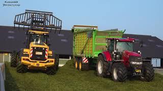 Gras 2019 :  Loonbedrijf Hartmann / New Holland FR9060 / Case Puma 240 / John Deere 7920