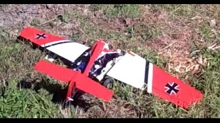 RC EDF Trainer Plane Awesome Crash