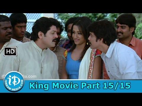 King Telugu Movie Part 1515 - Nagarjuna Trisha Mamta Mohandas...