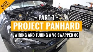 "Wiring and Tuning Project ""Panhard"" - Part 1 1UZFE V8 Powered Toyota 86 / Scion FRS"