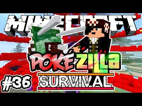 NOVA ÁRVORE DO TESOURO! - PokéZilla Survival! - Minecraft #36