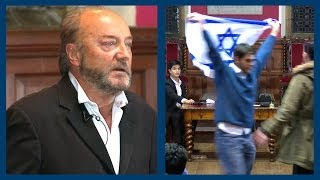George Galloway Accused of Being a Racist by Israeli Student | Oxford Union