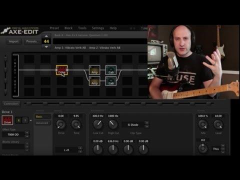 Axe fx metal tutorial
