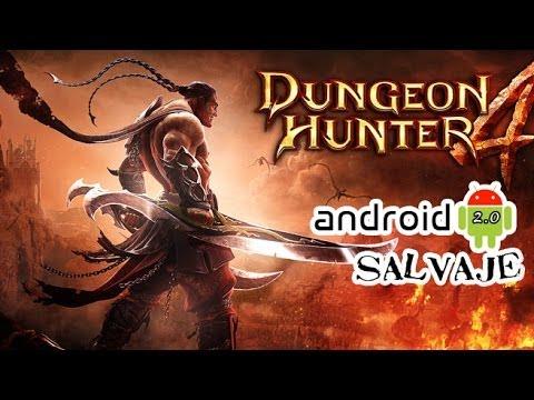 Dungeon Hunter 4 Apk+Datos(Truco DInero) Android Gameplay --Español/España Android Salvaje 2.0