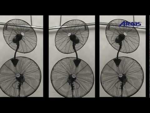 Ventiladores industriales de pared pie carrito y - Ventiladores de pared ...
