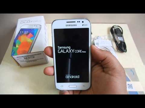 Samsung Galaxy Core Prime unboxing, bad service and quick review