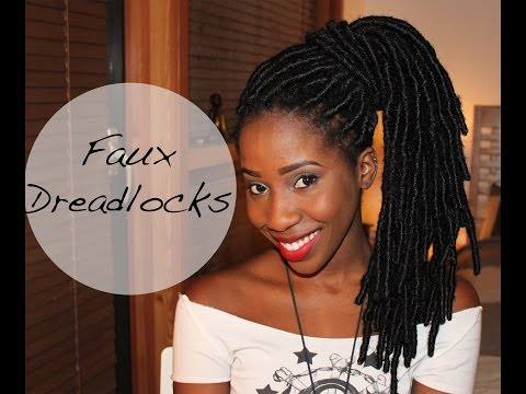 How to get Faux Dreadlocks Tutorial - AdannaDavid