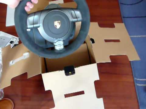 Fanatec Porsche GT3 RS V2 unboxing
