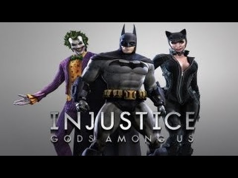 Injustice: Gods Among Us - Arkham City DLC Costumes (HD)