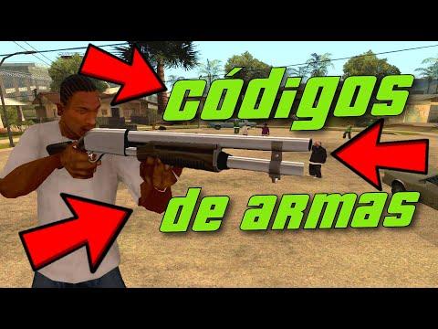 Códigos de armas e itens do GTA San Andreas