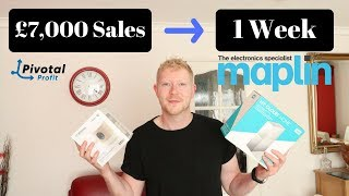 Reselling £7,000 of Maplin Stock IN ONE WEEK - Make Money Online - UK Reseller 2018