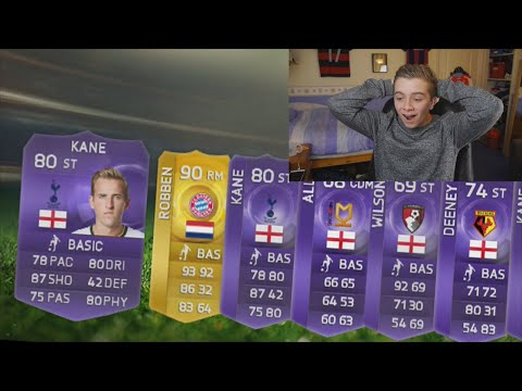 FIFA 15 - SO MANY PURPLE CARDS IN 1 PACK OPENING!
