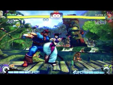 Super SFIV - Juri vs. T. Hawk (large) Video